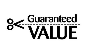 mark for GUARANTEED VALUE, trademark #85260934