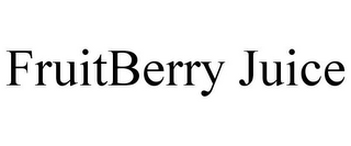 mark for FRUITBERRY JUICE, trademark #85261240