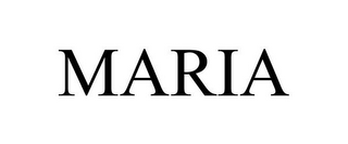 mark for MARIA, trademark #85261720