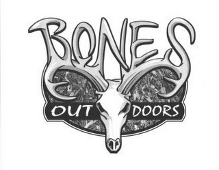 mark for BONES OUT DOORS, trademark #85262018