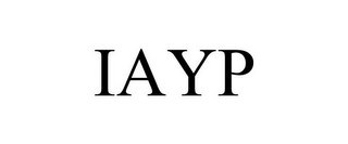 mark for IAYP, trademark #85262503