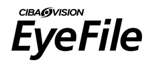 mark for CIBA VISION EYEFILE, trademark #85263486