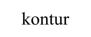mark for KONTUR, trademark #85263961