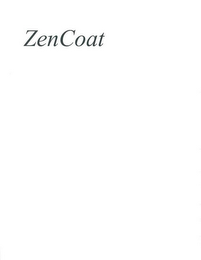 mark for ZENCOAT, trademark #85264356