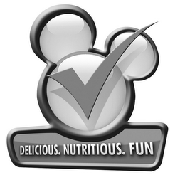 mark for DELICIOUS. NUTRITIOUS. FUN, trademark #85264425