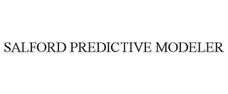 mark for SALFORD PREDICTIVE MODELER, trademark #85264515
