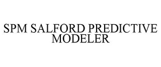 mark for SPM SALFORD PREDICTIVE MODELER, trademark #85264551