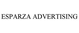 mark for ESPARZA ADVERTISING, trademark #85264761