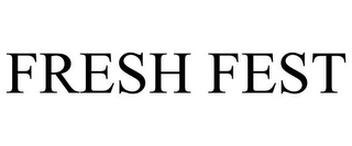 mark for FRESH FEST, trademark #85264820
