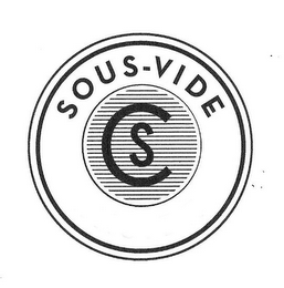 mark for CS SOUS-VIDE, trademark #85265105
