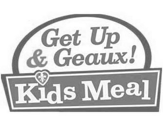 mark for GET UP & GEAUX! KIDS MEAL, trademark #85265741