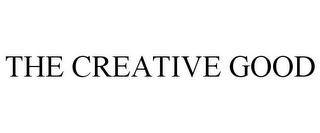 mark for THE CREATIVE GOOD, trademark #85266961