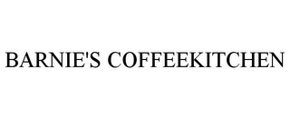 mark for BARNIE'S COFFEEKITCHEN, trademark #85267247