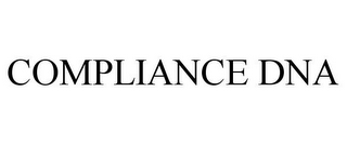 mark for COMPLIANCE DNA, trademark #85268698