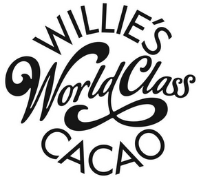 mark for WILLIE'S WORLD CLASS CACAO, trademark #85269157