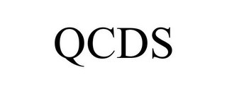 mark for QCDS, trademark #85269506