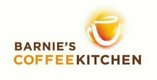 mark for BARNIE'S COFFEEKITCHEN, trademark #85271109