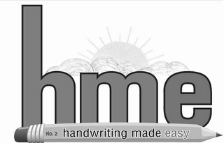 mark for HME NO. 2 HANDWRITING MADE EASY, trademark #85271157