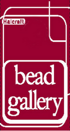 mark for HALCRAFT BEAD GALLERY, trademark #85273407