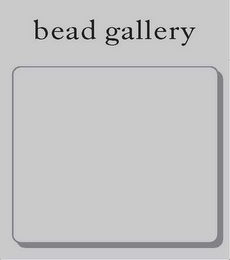 mark for BEAD GALLERY, trademark #85273626
