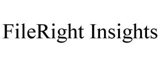 mark for FILERIGHT INSIGHTS, trademark #85273872