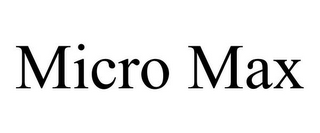 mark for MICRO MAX, trademark #85275156