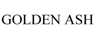 mark for GOLDEN ASH, trademark #85276004
