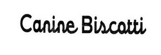 mark for CANINE BISCOTTI, trademark #85276192