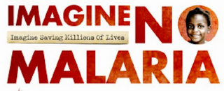 mark for IMAGINE NO MALARIA IMAGINE SAVING MILLIONS OF LIVES, trademark #85278320