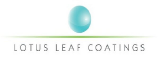 mark for LOTUS LEAF COATINGS, trademark #85278675