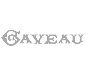 mark for GAVEAU, trademark #85279016