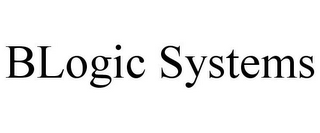 mark for BLOGIC SYSTEMS, trademark #85279151