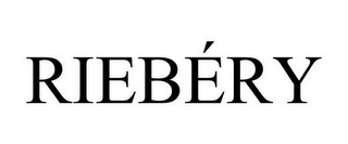mark for RIEBÉRY, trademark #85279197