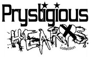 mark for PRYSTIGIOUS HEARTS COLLECTION, trademark #85279259