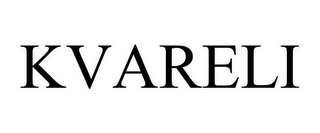 mark for KVARELI, trademark #85279637