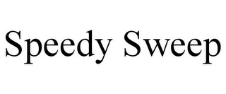 mark for SPEEDY SWEEP, trademark #85279830