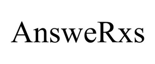 mark for ANSWERXS, trademark #85280029
