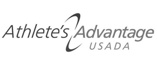 mark for ATHLETE'S ADVANTAGE USADA, trademark #85280533