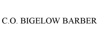 mark for C.O. BIGELOW BARBER, trademark #85280956