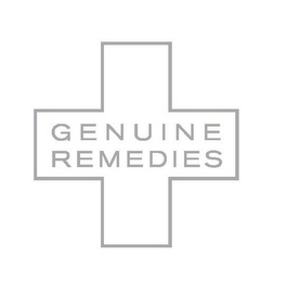 mark for GENUINE REMEDIES, trademark #85281013