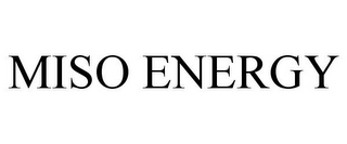 mark for MISO ENERGY, trademark #85282018