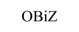 mark for OBIZ, trademark #85282116