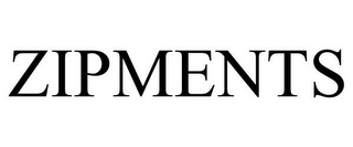 mark for ZIPMENTS, trademark #85282411