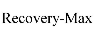 mark for RECOVERY-MAX, trademark #85282670