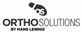 mark for OS ORTHO SOLUTIONS BY HANS LEIBNIZ, trademark #85282928