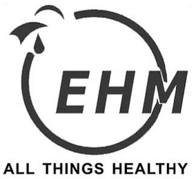 mark for EHM ALL THINGS HEALTHY, trademark #85283343