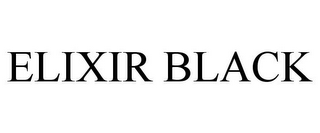 mark for ELIXIR BLACK, trademark #85283646