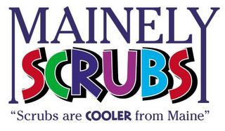 mark for MAINELY SCRUBS, trademark #85283813