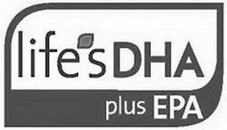 mark for LIFE'S DHA PLUS EPA, trademark #85284925