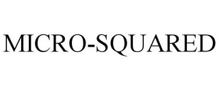 mark for MICRO-SQUARED, trademark #85284956